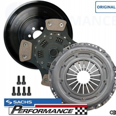 SACHS Motorsports Complete Motorsports Clutch Kit with light one mass flywheel (7,2kg) 600+NM VAG 1.9TDI & 1.8T 6 Speed Gearbox
