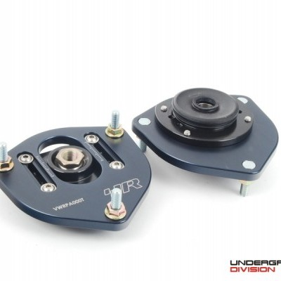 RACINGLINE SOLID ADJUSTABLE TOP MOUNTS CAMBER PLATES A5 PLATFORM