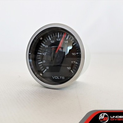 DEPO RACING CSM Series 52mm Volt Gauge (TRANSPARENT LENS)