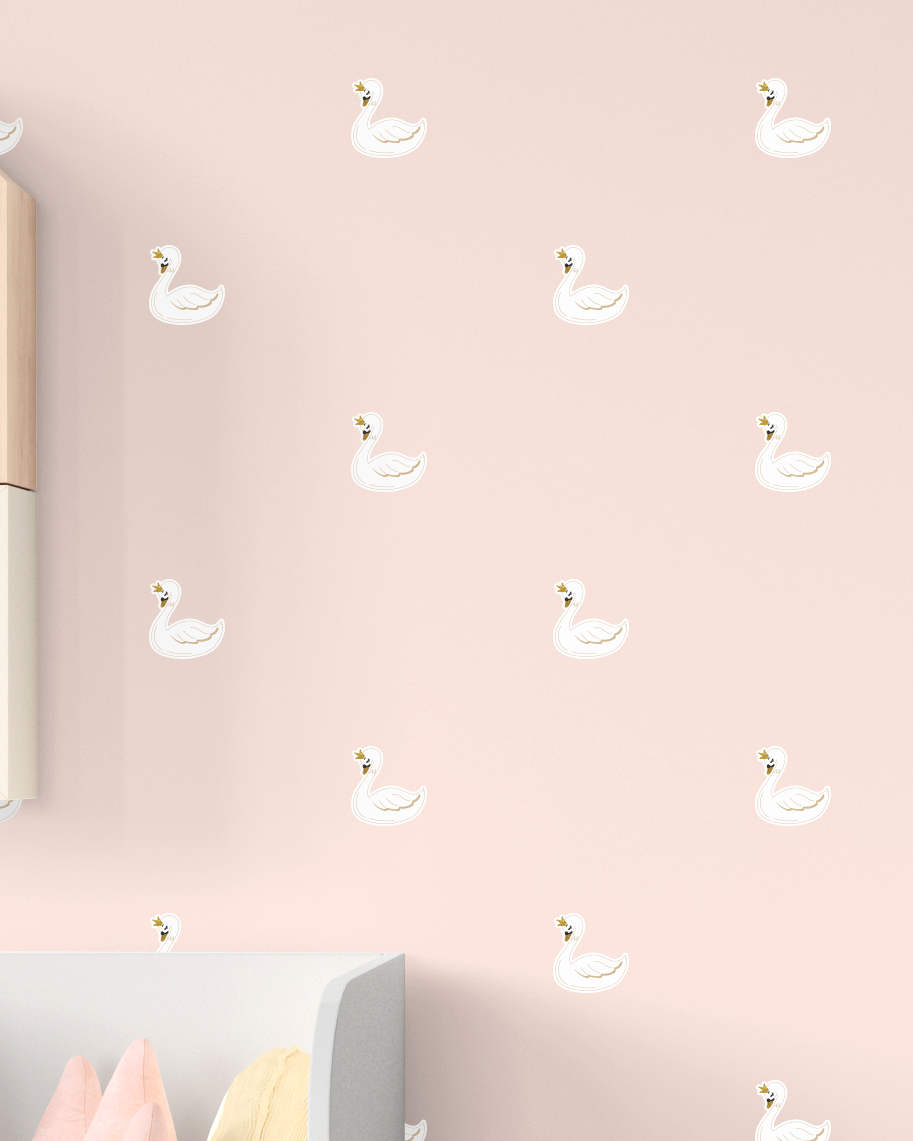 Wall Stickers - Cisnes