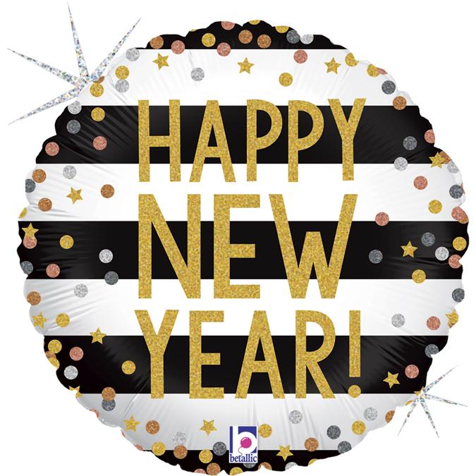 Balão Foil Feliz Ano Novo
