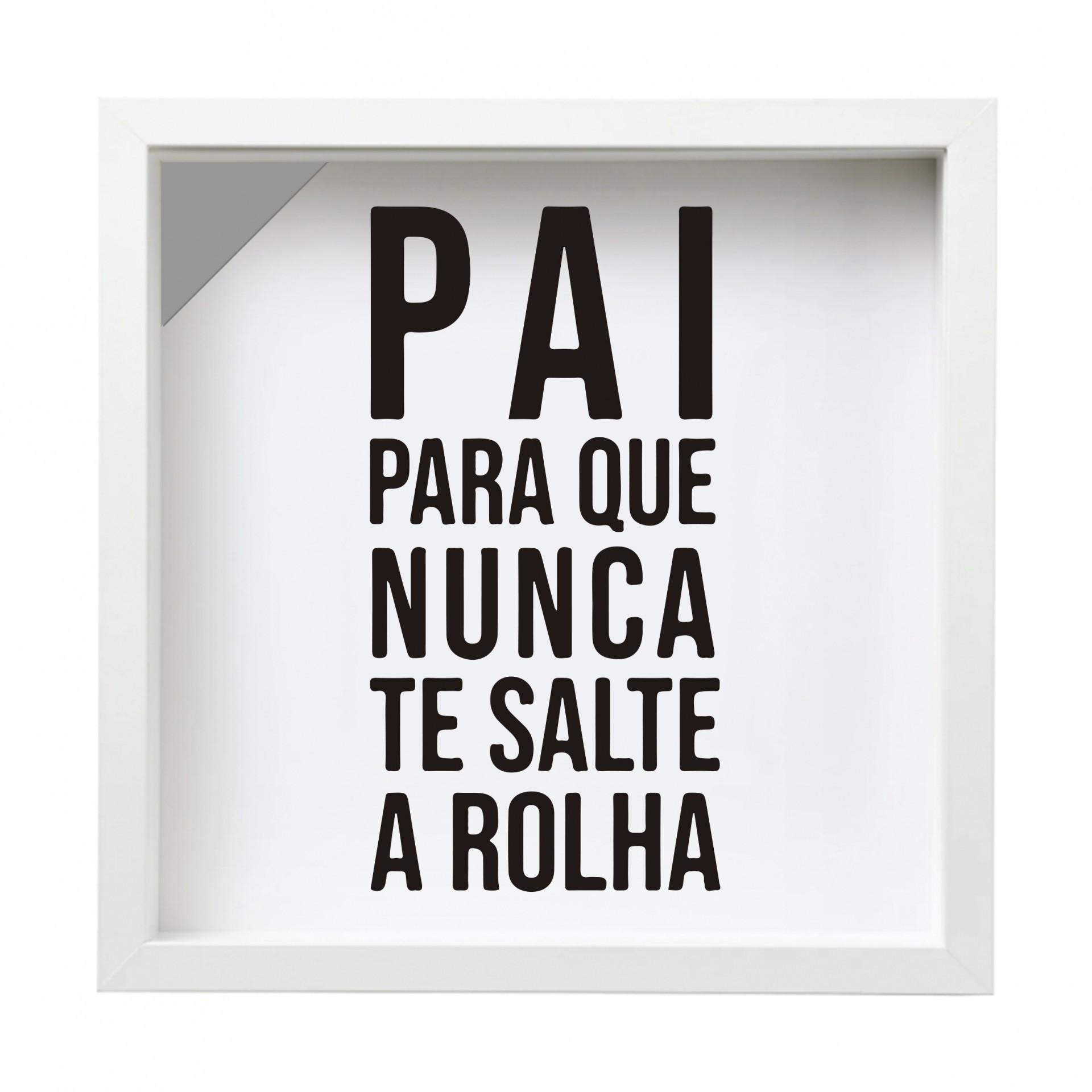 QUADRO DE ROLHAS / PAI - 27X27 CM