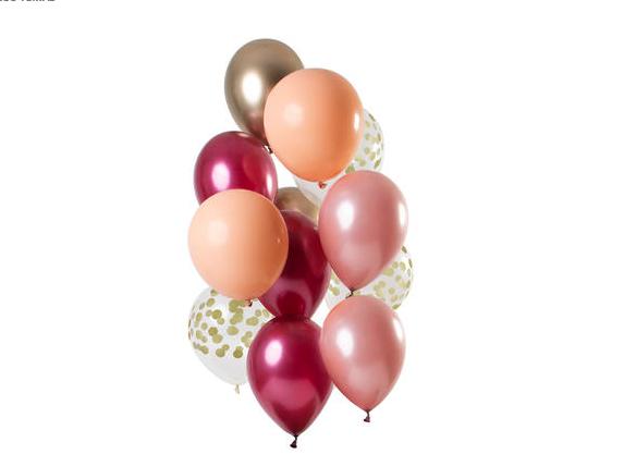 Balões Rich Ruby