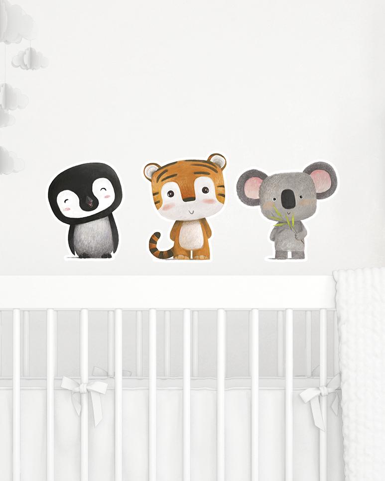 Wall Stickers - Animais da Selva