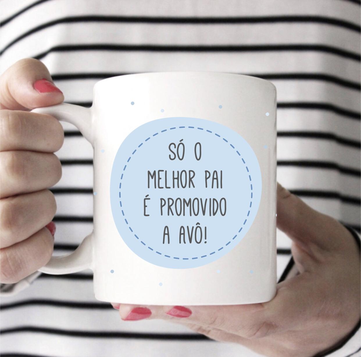 CANECA SÓ O MELHOR PAI