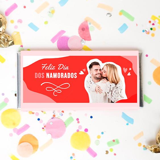 CHOCOLATES PERSONALIZADOS - Especial Dia dos Namorados