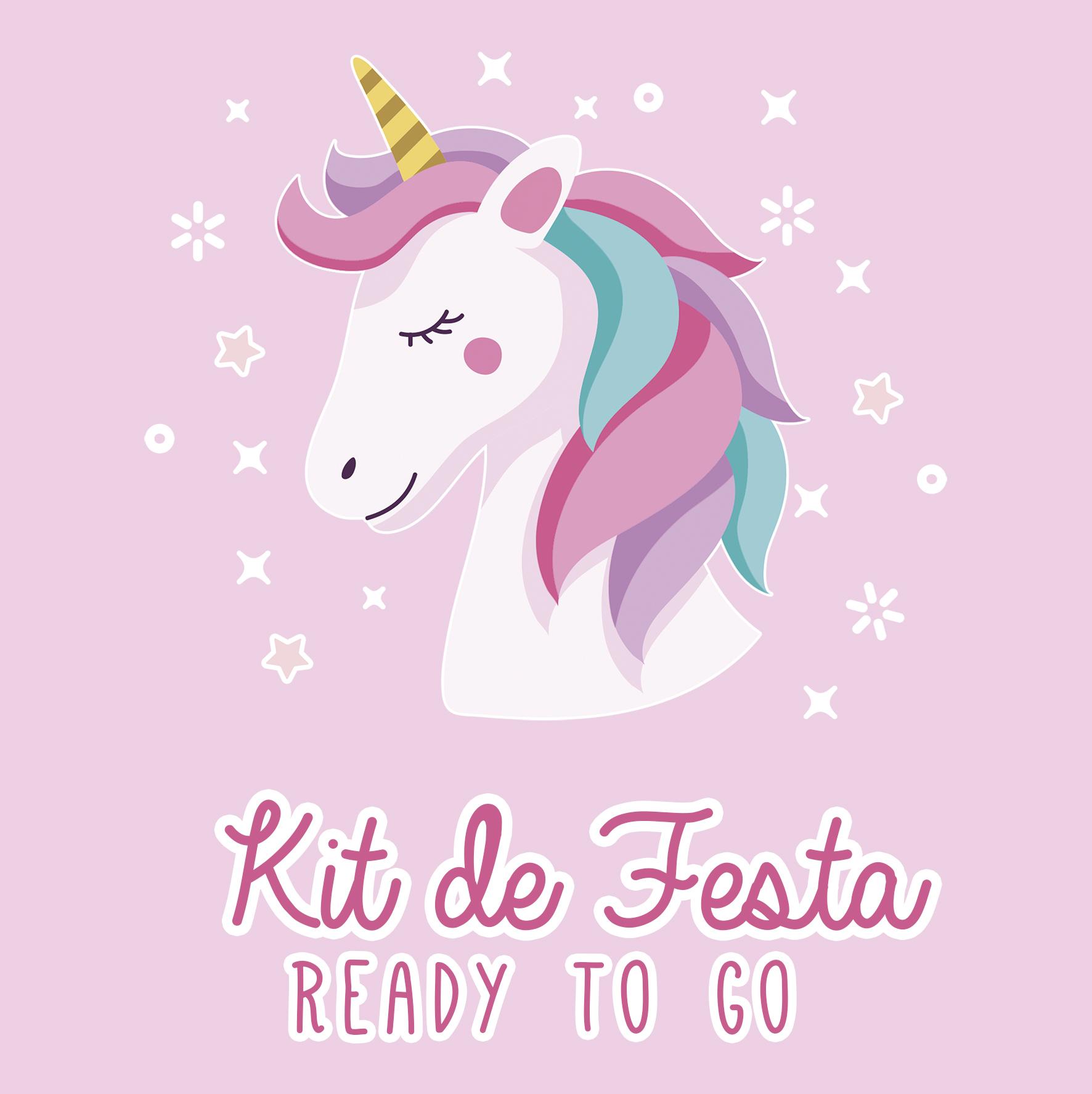 Kit de Festa READY TO GO - UNICÓRNIO
