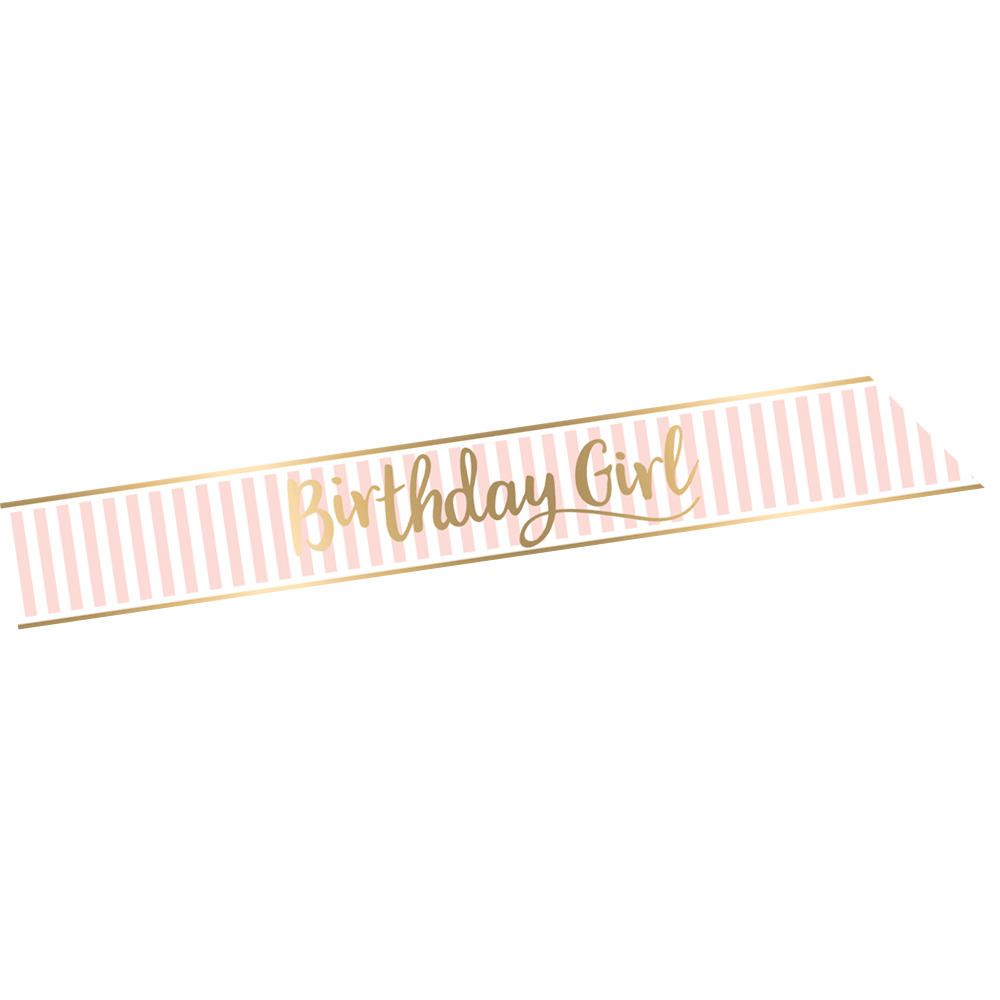 "Faixa ""BIRTHDAY GIRL"""