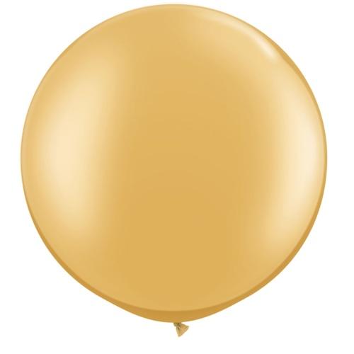 Balão 50/90 CM DOURADO