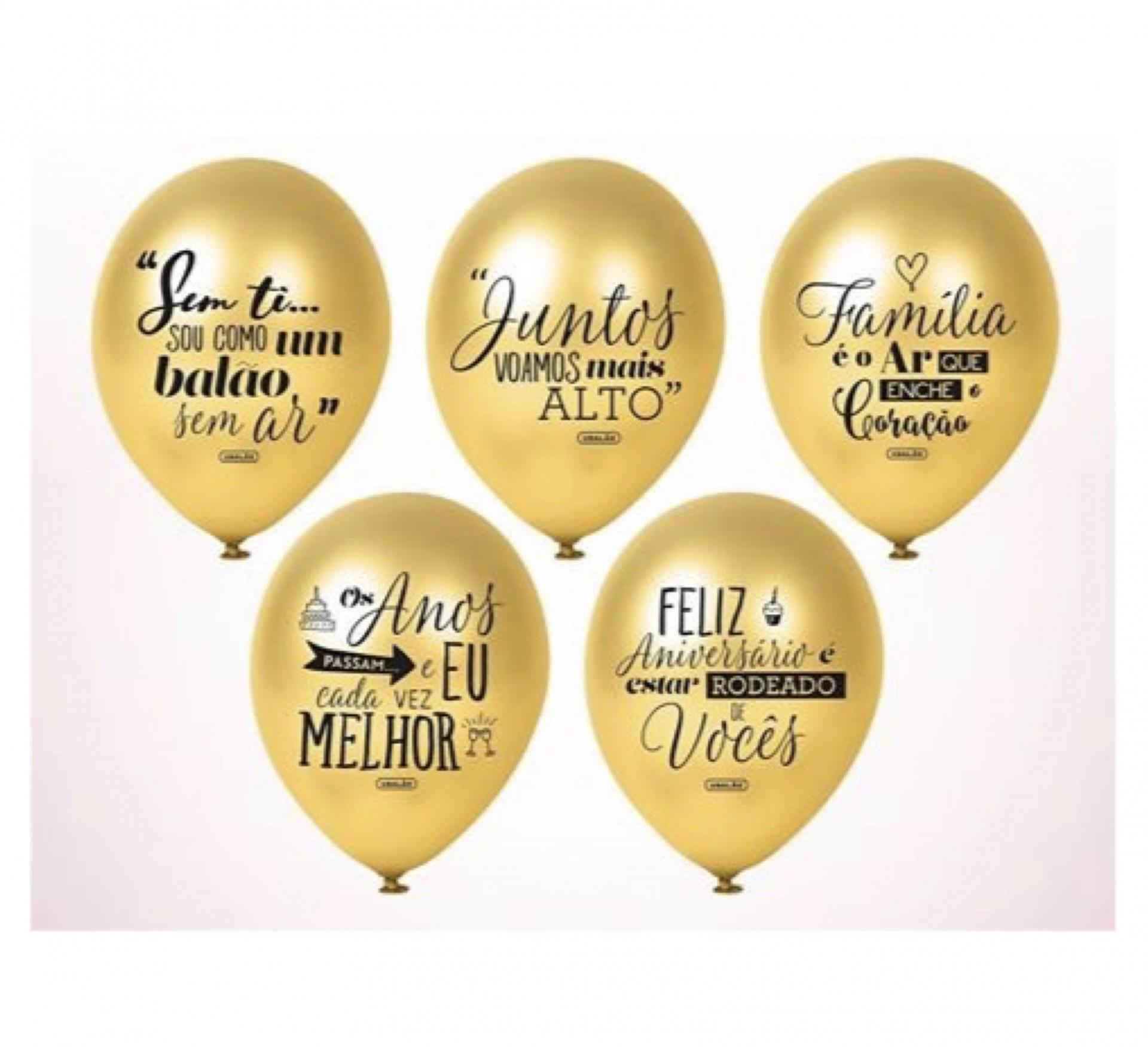 Balões Celebração DOURADO