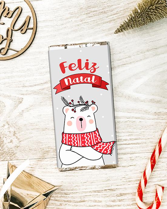 CHOCOLATE DE NATAL - FELIZ NATAL URSINHO