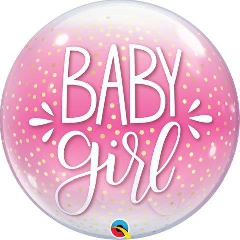 """BUBBLE 22"""" BABY GIRL"""