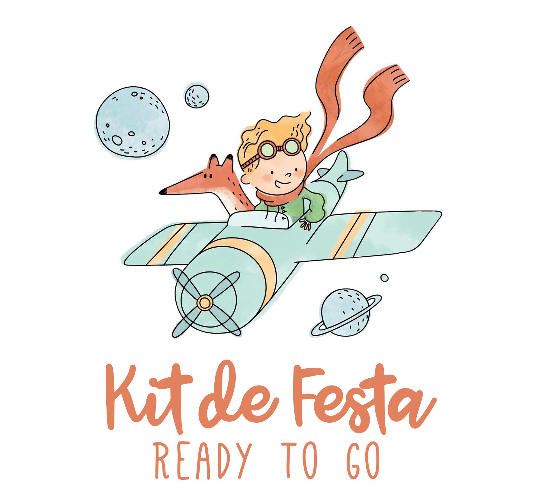 Kit de Festa READY TO GO - PRINCIPEZINHO
