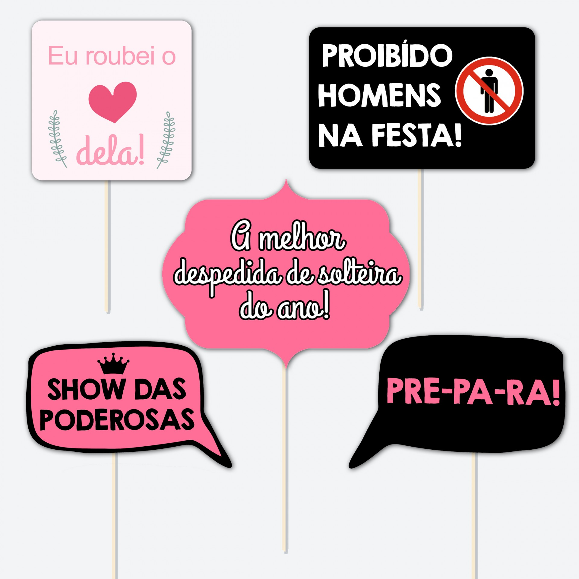 Photo Booth DESPEDIDA DE SOLTEIRA