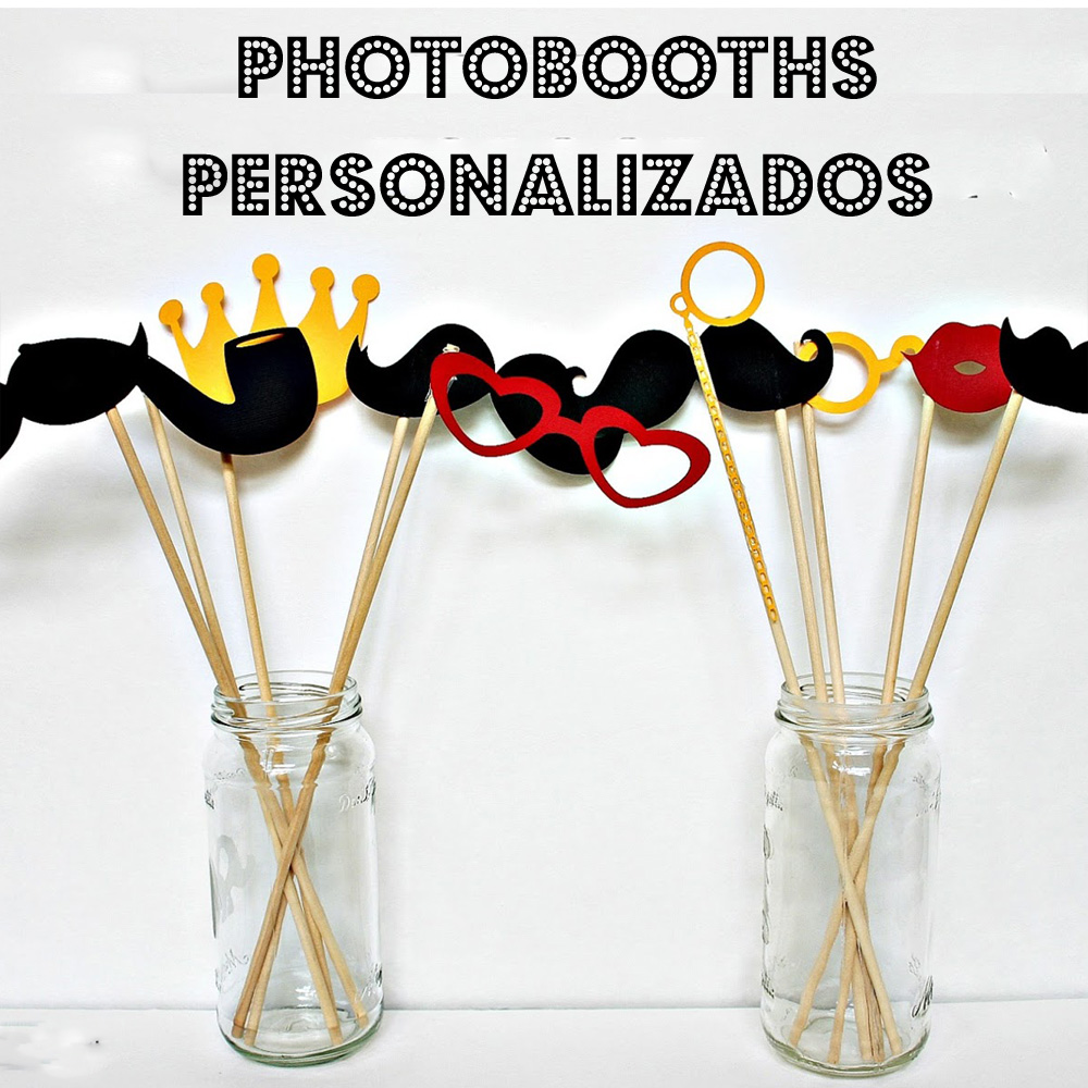 Photobooths PERSONALIZADOS