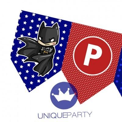 Bandeira SUPER HEROIS