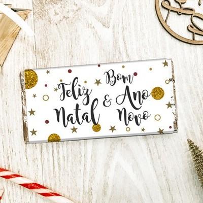 CHOCOLATE DE NATAL - FELIZ NATAL E BOM ANO NOVO