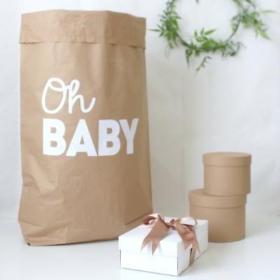 Saco de Papel Kraft - OH BABY