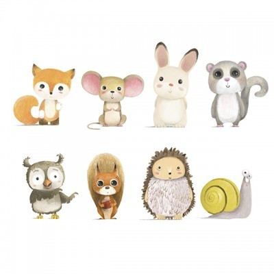 Wall Stickers - Animais da Floresta