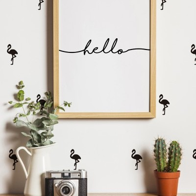Wall Stickers - FLAMINGOS
