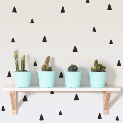 Wall Stickers - DOODLE TRIANGLES