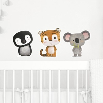Wall Stickers - Animais da Selva