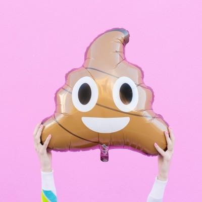 Balão EMOJI POO