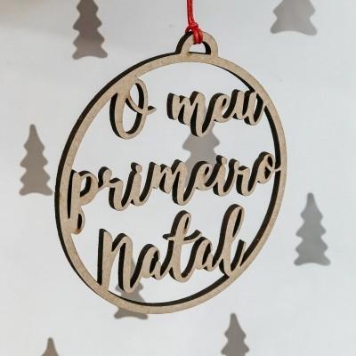 ORNAMENTO - O MEU PRIMEIRO NATAL