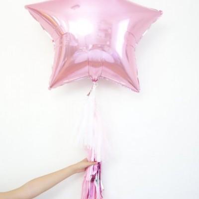 Balão ESTRELA PRETO