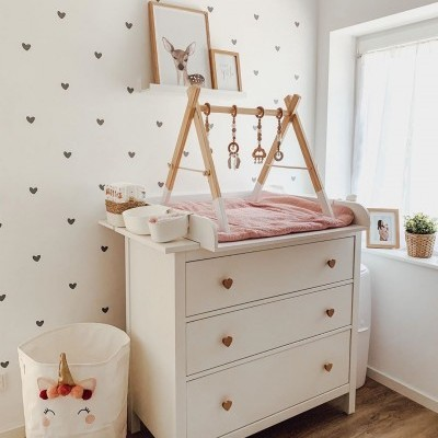 Wall Stickers - DOODLE HEARTS