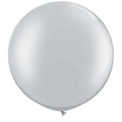 Balão 50/90 CM PRATEADO