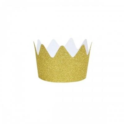 MINI COROAS - GLITTER GOLD