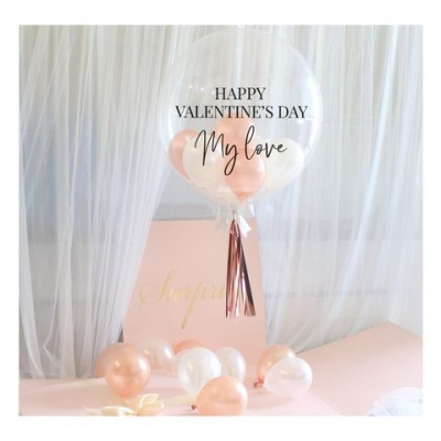 BUBBLE V-DAY PERSONALIZADA