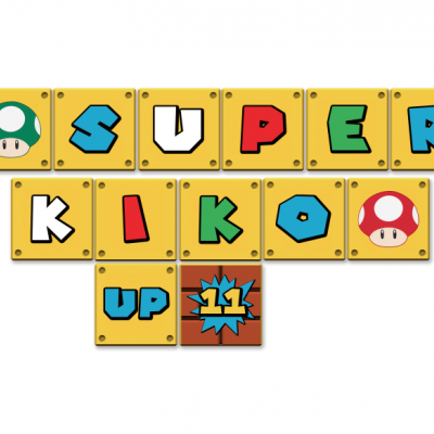 Bandeirola Super Mario