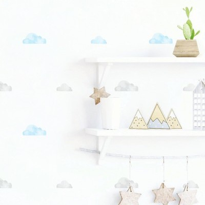 Wall Stickers - Nuvens Aguarela