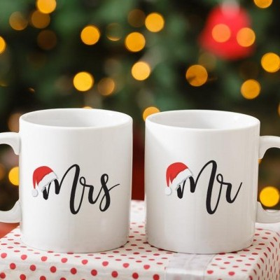 CONJUNTO CANECAS MR - MRS NATAL