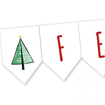 Bandeira Feliz Natal