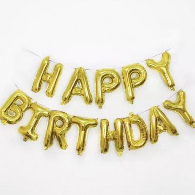 Balão HAPPY BIRTHDAY