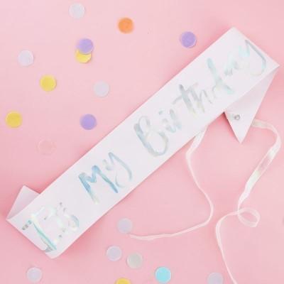 """Faixa """"IT´S MY BIRTHDAY"""""""