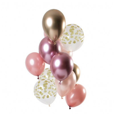 Balões Golden Blush