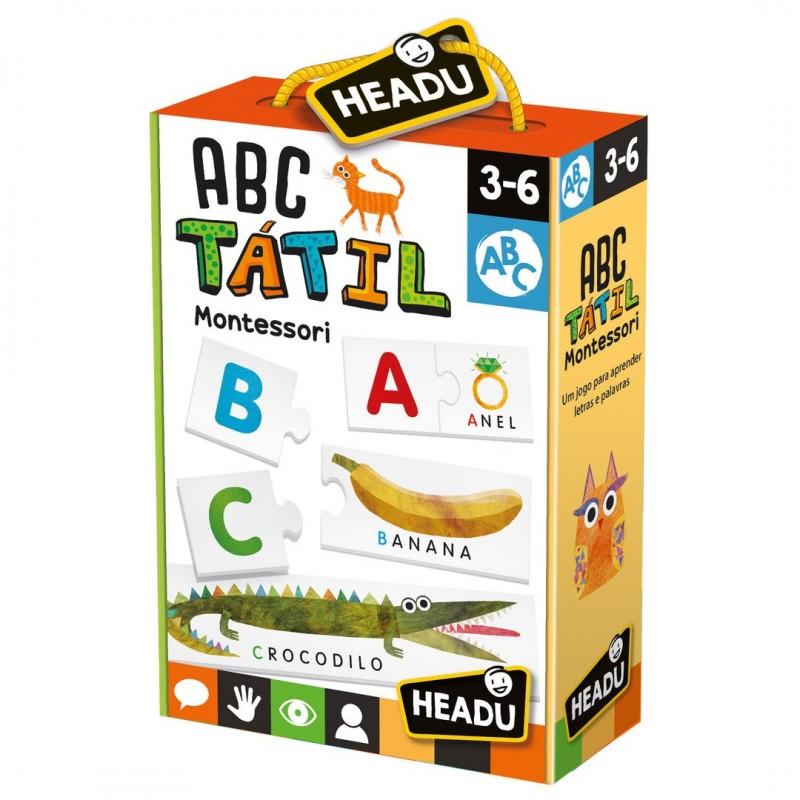 ABC Tátil - Montessori
