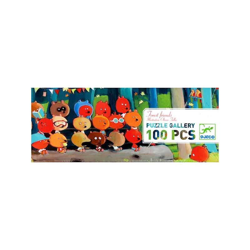 Amigos da Floresta - Puzzle 100 peças