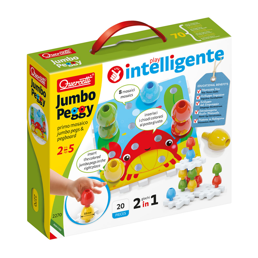 Puzzle Construção Jumbo Peggy 20 Peças