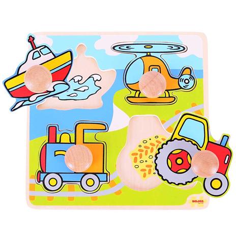 Puzzle de Encaixe Veículos