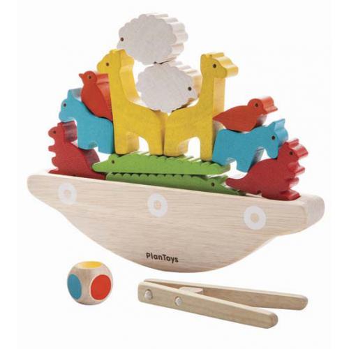 Barco e Animais - Jogo de Equilíbrio