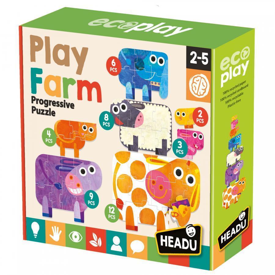 Play Farm - Puzzles Progressivos