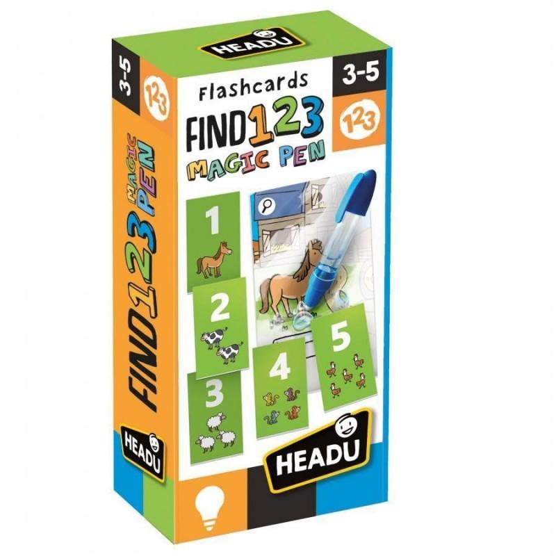 Flashcards FIND 123 (Caneta Mágica)