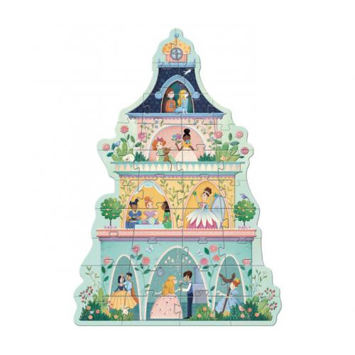 A Torre da Princesa - Puzzle Gigante 36 Peças