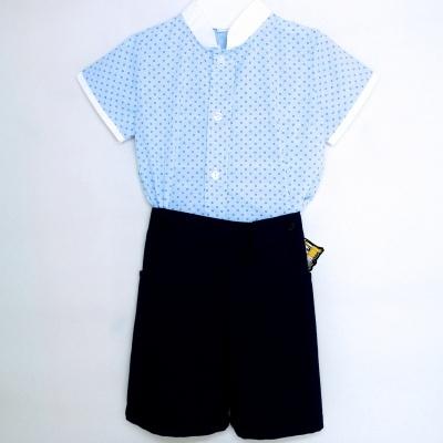 Conjunto de Menino - Camisa Manga Curta + Calção