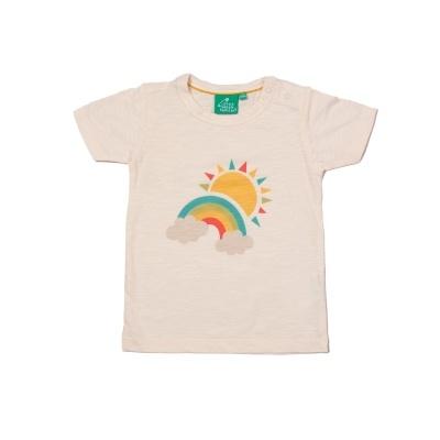 "T-shirt ""Sol e Arco-Íris"""
